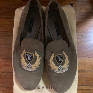 Louis Vuitton Khaki loafer